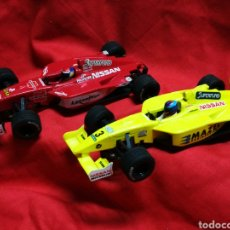 Scalextric: LOTE SCALEXTRIC NISSAN DALLARA WORLD SERIES- M. GENÉ, MONTAGNY(TECNITOYS).. Lote 179009258
