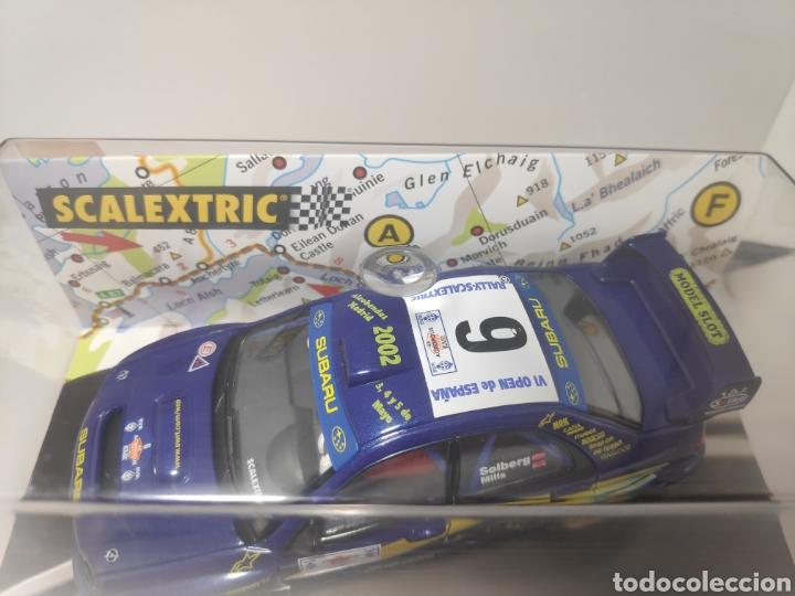 Scalextric: SCALEXTRIC SUBARU IMPREZA WRC VI OPEN DE ESPAÑA 2002 TECNITOYS - Foto 2 - 179110998