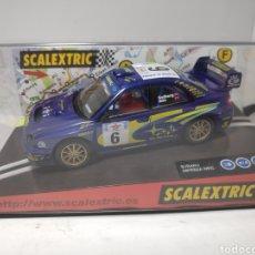 Scalextric: SCALEXTRIC SUBARU IMPREZA WRC VI OPEN DE ESPAÑA 2002 TECNITOYS. Lote 179110998