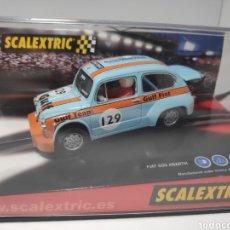 Scalextric: SCALEXTRIC FIAT ABARTH GULF CAMPEONATO ESPAÑA 2003 TECNITOYS. Lote 179309911