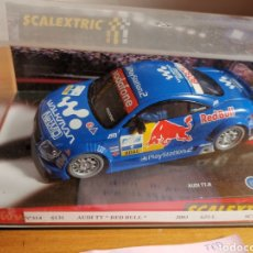 Scalextric: COCHE SCALEXTRIC DE TECNITOYS AUDÍ TT RED BULL. 2003 REF. 6131. Lote 179402588