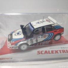 Scalextric: SCALEXTRIC LANCIA DELTA INTEGRALE RALLY SAFARI SCX REF. U10246S300. Lote 179549130
