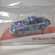 Scalextric: SCALEXTRIC RENAULT ALPINE A110 MOUTON SCX REF. U10238S300. Lote 218904196