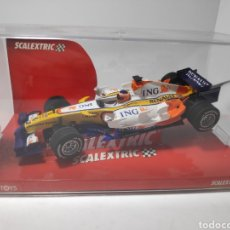 Scalextric: SCALEXTRIC RENAULT F1 TEAM R28 TECNITOYS REF. 6332 ALONSO. Lote 179551345