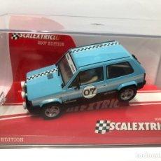 Scalextric: COCHE SLOT SCALEXTRIC SEAT PANDA EDICION SCALEXTRIC CLUB 2007 NUEVO CON CAJA. Lote 180007256