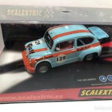 Scalextric: COCHE SLOT SCALEXTRIC FIAT 600 ABARTH NUEVO CON CAJA. Lote 180011096