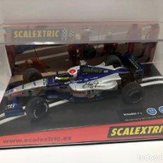 Scalextric: COCHE SLOT SCALEXTRIC MINARDI F1 TEAM MARC GENER TELEFONICA NUEVO CON CAJA. Lote 180089880