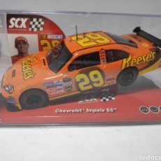 Scalextric: SCALEXTRIC CHEVROLET IMPALA SS REESE'S REF. 6421 SCX TECNITOYS NASCAR. Lote 180182960