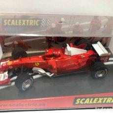Scalextric: COCHE SLOT FERRARI F1 SCALEXTRIC NUEVO CON CAJA . Lote 180315390