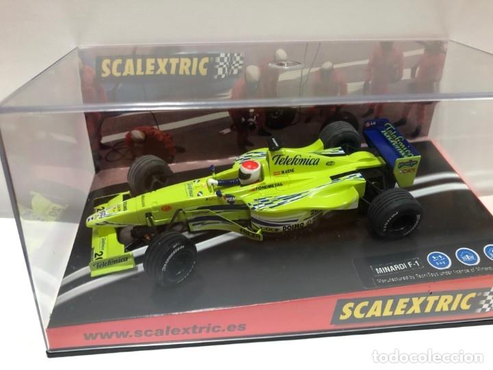 COCHE SLOT MINARDI F1 SCALEXTRIC NUEVO CON CAJA (Juguetes - Slot Cars - Scalextric Tecnitoys)