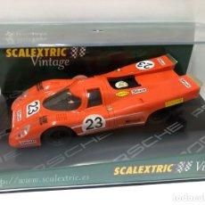 Scalextric: COCHE SLOT PORSCHE 917 VINTAGE SCALEXTRIC NUEVO CON CAJA . Lote 180315840