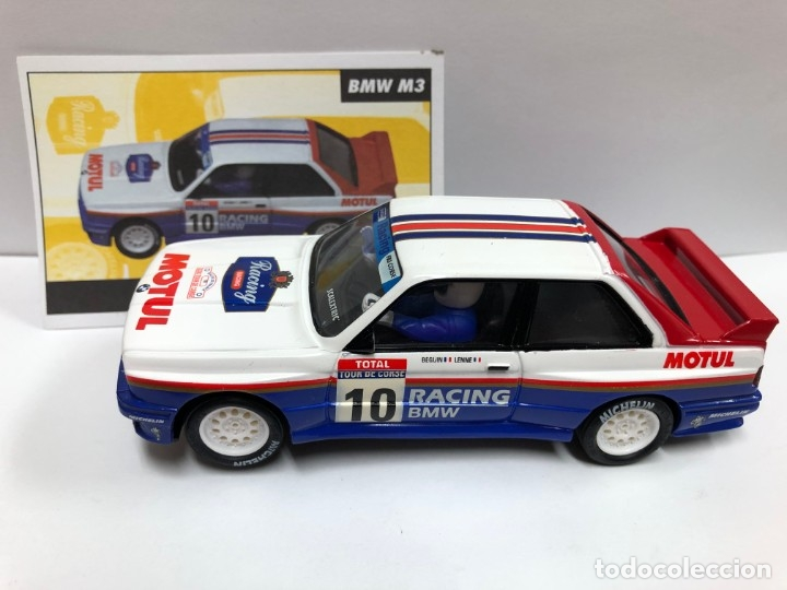 COCHE SLOT BMW M3 RALLY MITICOS SCALEXTRIC ALTAYA NUEVO (Juguetes - Slot Cars - Scalextric Tecnitoys)