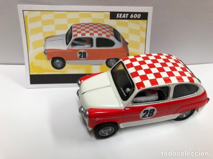 COCHE SLOT SEAT 600 E SERIE RALLY MITICOS SCALEXTRIC ALTAYA NUEVO (Juguetes - Slot Cars - Scalextric Tecnitoys)