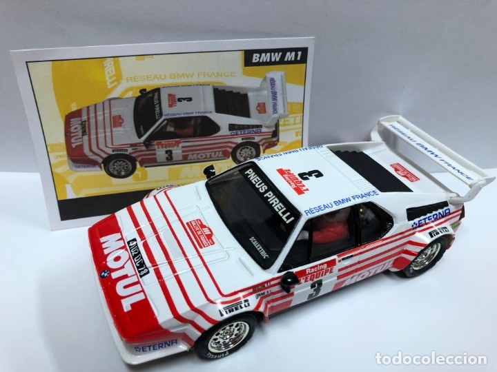 COCHE SLOT BMW M1 SERIE RALLY MITICOS SCALEXTRIC ALTAYA NUEVO (Juguetes - Slot Cars - Scalextric Tecnitoys)