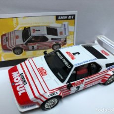 Scalextric: COCHE SLOT BMW M1 SERIE RALLY MITICOS SCALEXTRIC ALTAYA NUEVO . Lote 180335238