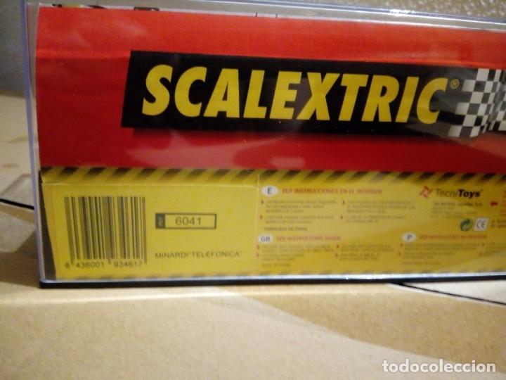 Scalextric: SCALEXTRIC 6041 MINARDI F1 TELEFONICA Marc Gené - Foto 2 - 164760170