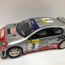 Scalextric: COCHE SLOT PEUGEOT 206 WRC PANZZI SCALEXTRIC NUEVO . Lote 180845242