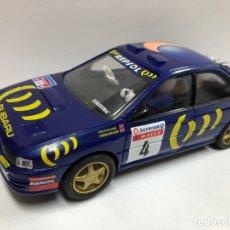 Scalextric: COCHE SLOT SUBARU WRC SCALEXTRIC NUEVO. Lote 180846368