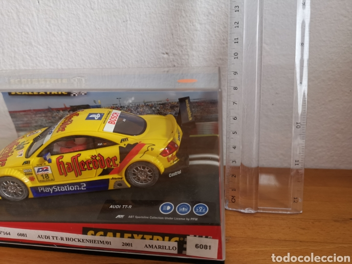 Scalextric: Coche scalextric de Tecnitoys Audi TT R Hockenheim ref. 6081 - Foto 2 - 181139950