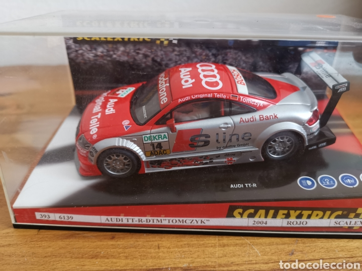 COCHE SCALEXTRIC TECNITOYS AUDI TT R DTM TOMCZYK REF. 6139 (Juguetes - Slot Cars - Scalextric Tecnitoys)