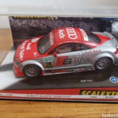 Scalextric: COCHE SCALEXTRIC TECNITOYS AUDI TT R DTM TOMCZYK REF. 6139. Lote 181354776