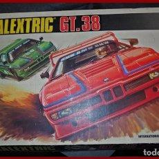 Scalextric: SCALEXTRIC GT 38 DE TECNITOYS.....FRABRICADO EN ESPAÑA POR EXIN. Lote 181427961