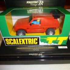 Scalextric: SCALEXTRIC. MITSUBISHI PAJERO TT ROJO VINTAGE. REF. 6346. . Lote 181965830