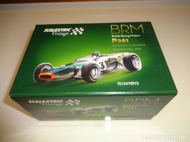 Scalextric: Scalextric. BRM F1 vintage. Ref. 6255 - Foto 3 - 181966627