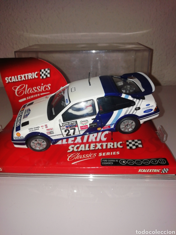 FORD SIERRA COSWORTH SCALEXTRIC (Juguetes - Slot Cars - Scalextric Tecnitoys)