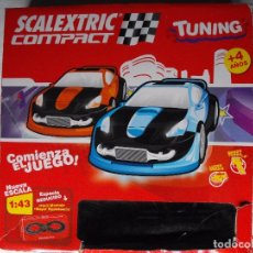 Scalextric: SCALEXTRIC COMPACT. TUNING. ESCALA 1:43. COMPLETO.. Lote 182166326