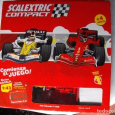 Scalextric: SCALEXTRIC COMPACT. ESCALA 1:43. COMPLETO.. Lote 182166638