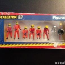 Scalextric: SET SCALEXTRIC - SCX 6X FIGURAS 8827. F1 - 1/32 ESCALA . NUEVAS EN CAJA ORIGINAL. Lote 182666452