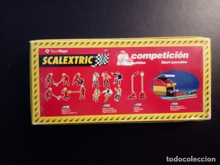 Scalextric: Set Scalextric - SCX 6x Figuras 8827. F1 - 1/32 Escala . Nuevas en caja original - Foto 2 - 182666452