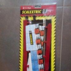 Scalextric: SET SCALEXTRIC SCX REF 8814. F1 PUENTE COMPLETO EN BLISTER ORIGINAL ORIGINAL. Lote 182666693