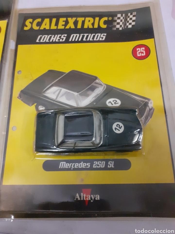 Scalextric: SACALEXTRIC MERCEDES 250 ALTAYA COCHES MITICOS - Foto 2 - 182886548
