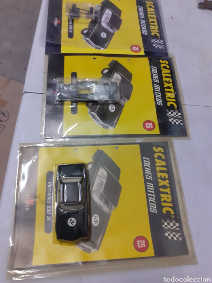SACALEXTRIC MERCEDES 250 ALTAYA COCHES MITICOS (Juguetes - Slot Cars - Scalextric Tecnitoys)