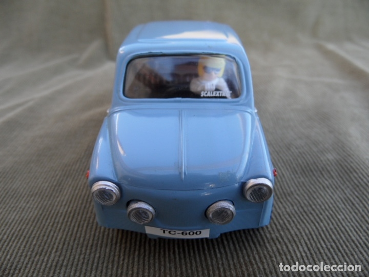 SEAT 600 SCALEXTRIC TECNITOYS . COMO MUESTRAN LAS FOTOGRAFIAS. (Juguetes - Slot Cars - Scalextric Tecnitoys)