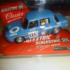 Scalextric: SCALEXTRIC. RENAULT 8 TS. BLUE. REF. 6379. Lote 183440415