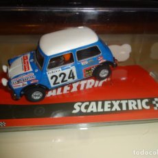 Scalextric: SCALEXTRIC. MINI COOPER. REVERTER-MONTECARLO. REF. A10193S300. Lote 183441316