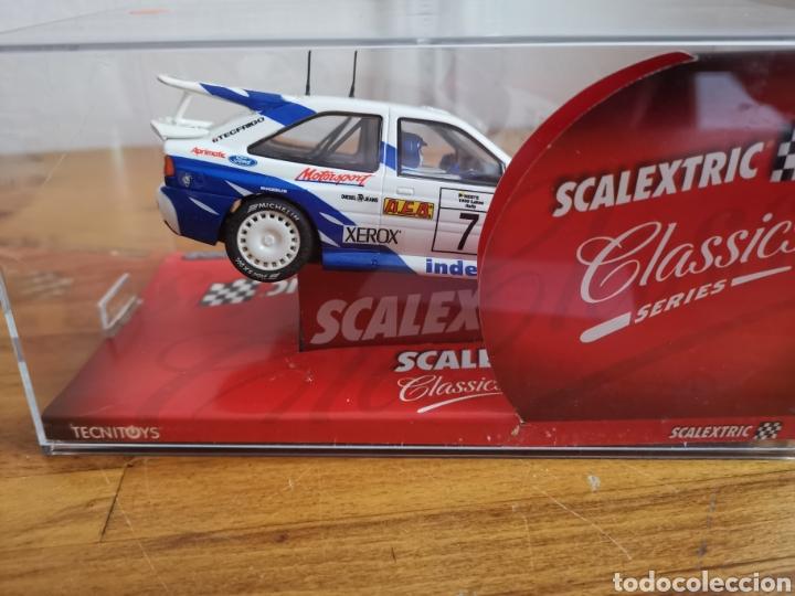 Scalextric: Coche scalextric de Tecnitoys Ford Escort RS Cosworth ref. 6258 nº7 - Foto 4 - 183684586