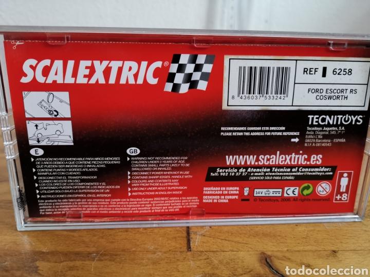 Scalextric: Coche scalextric de Tecnitoys Ford Escort RS Cosworth ref. 6258 nº7 - Foto 6 - 183684586