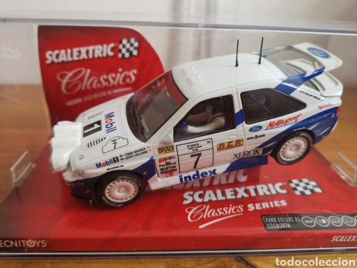 Scalextric: Coche scalextric de Tecnitoys Ford Escort RS Cosworth ref. 6258 nº7 - Foto 8 - 183684586