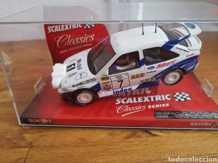 COCHE SCALEXTRIC DE TECNITOYS FORD ESCORT RS COSWORTH REF. 6258 Nº7 (Juguetes - Slot Cars - Scalextric Tecnitoys)