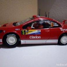 Scalextric: SCALEXTRIC 6161 PEUGEOT 307 WRC GRÖNHOLM. Lote 183847865