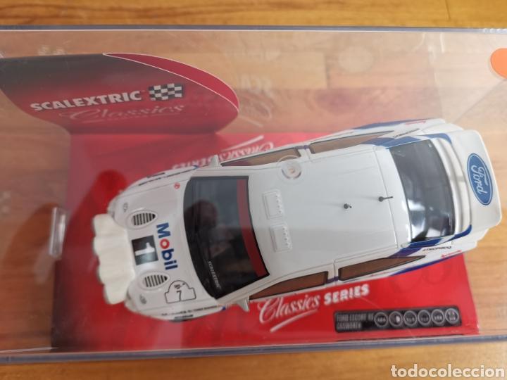 Scalextric: Coche scalextric de Tecnitoys Ford Escort RS Cosworth ref. 6258 nº7 - Foto 2 - 184032083