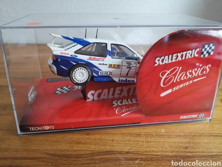 Scalextric: Coche scalextric de Tecnitoys Ford Escort RS Cosworth ref. 6258 nº7 - Foto 5 - 184032083