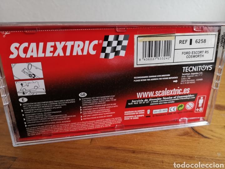 Scalextric: Coche scalextric de Tecnitoys Ford Escort RS Cosworth ref. 6258 nº7 - Foto 6 - 184032083