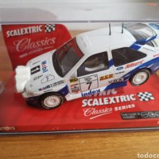 Scalextric: COCHE SCALEXTRIC DE TECNITOYS FORD ESCORT RS COSWORTH REF. 6258 Nº7. Lote 184032083