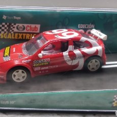Scalextric: COCHE CLUB SCALEXTRIC AÑO 1999 RENAULT MEGANE. Lote 133594078
