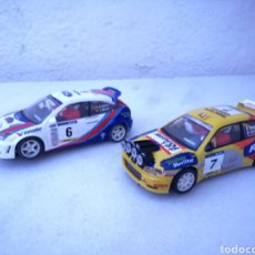 Scalextric: FORD FOCUS WRC Y SEAT CORDOBA SCALEXTRIC TECNITOYS. Lote 184191075